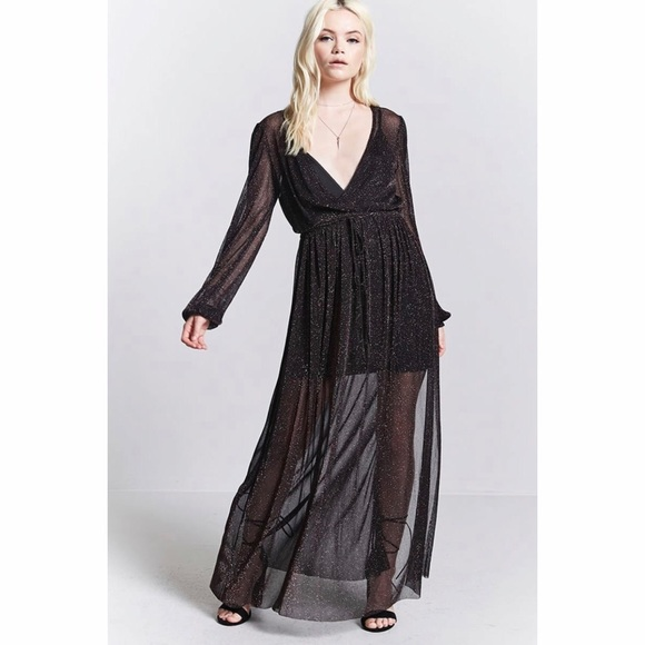 BNWT Contemporary Sheer Maxi Dress